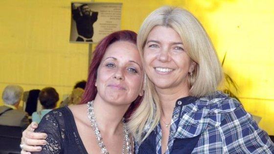Irene Sisi e Claudia Francardi, rispettivamente madre dell'aggressore e moglie della vittima.